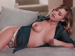 Hot girl kennedy leigh takes off her panties tubes