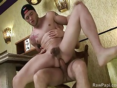 Bareback anal sex with hot latin guys tubes