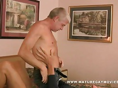 Silverdaddy bareback his mature fuck buddy tubes