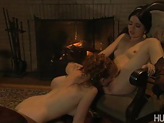While pining for her fiance, mina seeks solace in the arms (and between the legs) of her best friend lucy. tubes