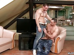 Fit guys star in suck and ass fuck video tubes
