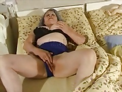 Granny and curvy mature have lesbian sex tubes