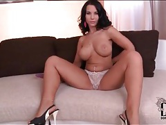 Perfect body and big tits on dildo fucking girl tubes