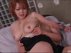 Big tits japanese girl gives lusty blowjob tubes