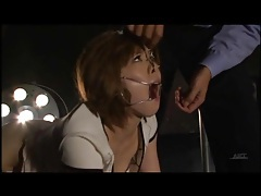 Pain and suffering for slutty japanese girl tubes