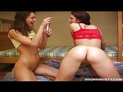 Young busty silvie 69ing with a lesbian tubes