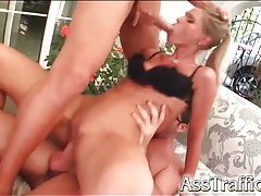 Messy facials make anal girl happy tubes