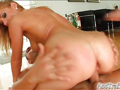 Pretty girl stars in sexy double penetration tubes