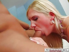 Doggystyle girl wants creampie filling tubes