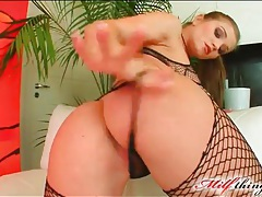 Rita faltoyano fucked in fishnets tubes