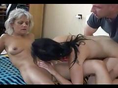 Throbbing cock fucks skinny grandma tubes