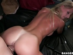 Great sex in the car with a big tits blonde tubes