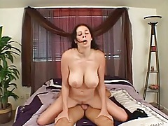 Gianna michaels jiggles as he fucks her hard tubes