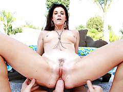 Milf in gaping anal scene outdoors tubes