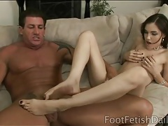 Sasha grey footjob and deepthroat blowjob tubes