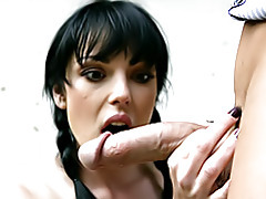 Euro slut loves cock tubes