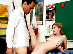 Teen takes teacher cock tubes