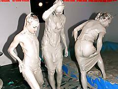 Mud wrestling hotties tubes