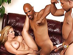 Black dudes do mom tubes