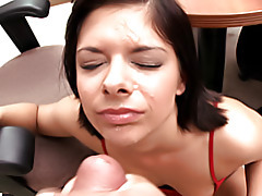 Big cock fuck and facial tubes