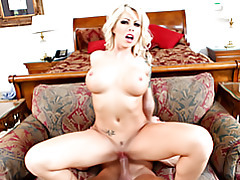 Wicked big titty babe on top tubes