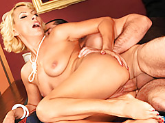 Hot blonde mature loves sex tubes