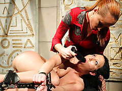 Mistress enjoys her sub tubes