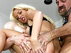 She craves two hard dicks tubes