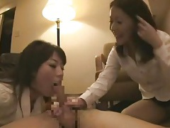 Secretary sluts in skirts in foreplay foursome tubes