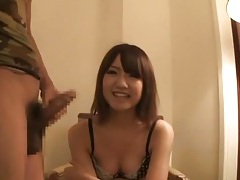 Japanese girl gives blowjob in hotel room tubes