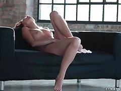 Sensual early morning masturbation with beauty tubes