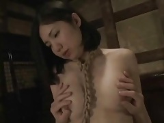 Bald japanese cunt licked and fucked tubes