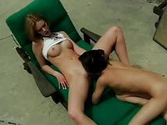 Sexy slim women in pussy eating outdoor porn tubes