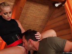 Kathia nobili eaten out by an eager tongue tubes