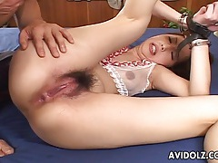 Suave japanese hottie tomoe hinatsu sucking cock uncensored tubes