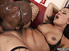 Asian slut annie haze enjoys interracial anal sex tubes