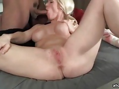 Hot camgirl in pigtails loves to fuck tubes