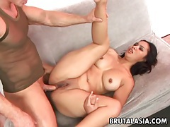 Asian babe nakia ty gets her pussy and ass fucked tubes