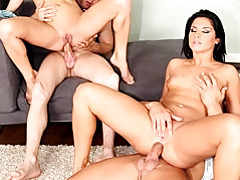 Anal cock riding foursome tubes