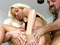She craves two hard dicks tubes