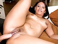 Hairy brunette girl fucked tubes