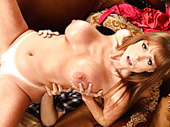 Milf with bald pussy boned tubes