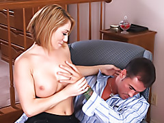 Cocksucking blonde on her knees tubes