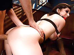 Pretty girl bound and anally fucked tubes