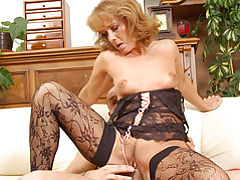 Anilos koko toys her pussy and rides a cock tubes