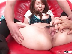 Pretty girl finger fucked in slippery pussy tubes