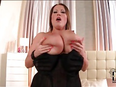 Corset looks sexy on curvy laura orsolya tubes