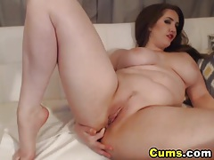 Huge natural tits babe masturbating tubes