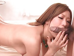 Juicy japanese cunt fingered lustily tubes