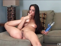 Flexible lyla storm can suck her own toes tubes